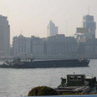 Barge on the Huangpu
